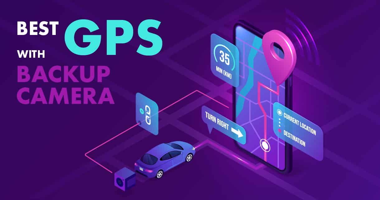 GPS with Backup Camer