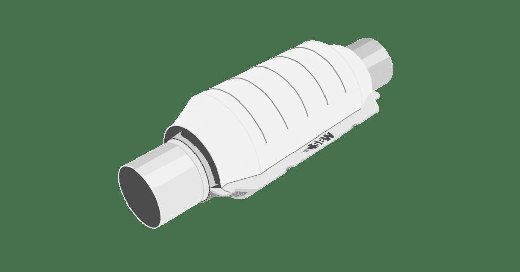 Exhaust part 2 - High-flow catalytic converter